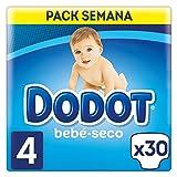 Dodot Bebé-Seco Pañales Talla 4, 30 Pañales, el único Pañal con canales de Aire