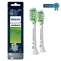 Philips Sonicare Premium White BrushSync Enabled Replacement brush Heads, 2pk, White - HX9062/17