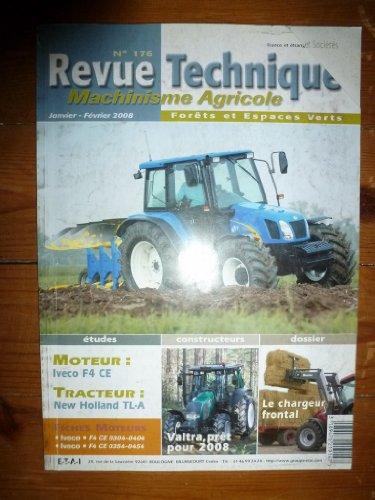 revue-technique-tracteur-agricole-et-machinisme-new-holland-tl-a-moteur-iveco-f4-ce-rtma0176-janvier