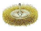 Leman 630.100–Spazzola circolare con filo ottonato