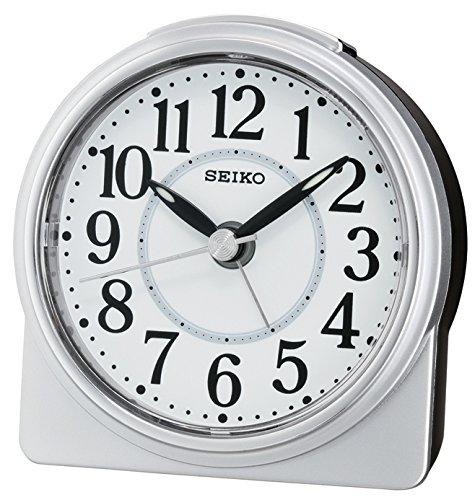 Seiko Unisex Wecker Analog Silber QHE137S