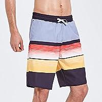 Pantalones de playa verano nuevos cinco pantalones hombres pantalones cortos sueltos parejas casuales pantalones de verano pantalones de sección delgada pantalones cortos de flores secas playa vacaciones troncos de aguas termales