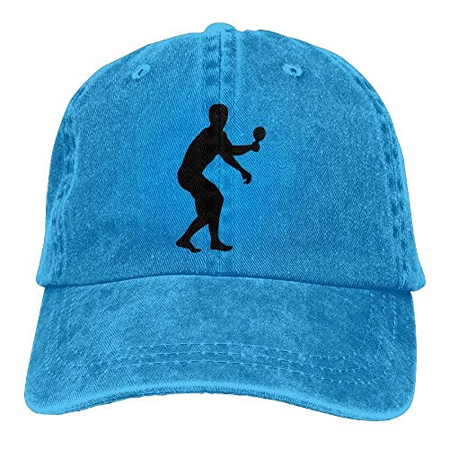 best service 003e9 99f1a Bgejkos Ping Pong Cowboy Sports Hat Rear Cap Adjustable Cap ABCDE08806