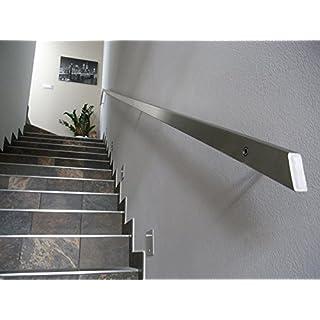 Handrail Stainless Rectangular 40x 20mm, grey
