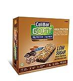 #8: CaliBar GoFit Bar Low Sugar Crispy Coffee, Box of 6 Bars, 180g