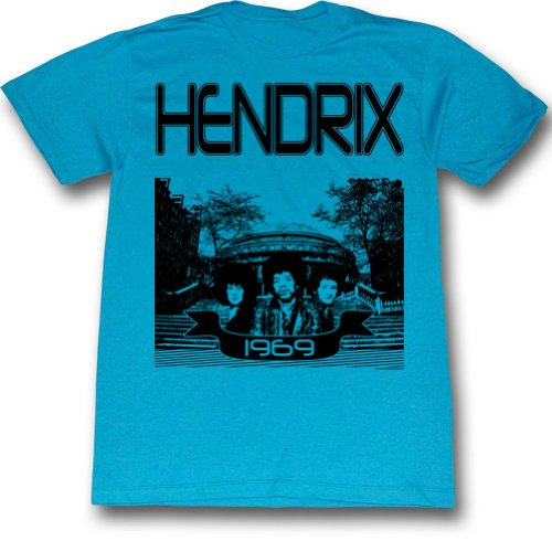 Jimi Hendrix - Herren Hendrix 1965 T-Shirt As Shown