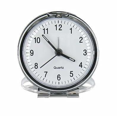 travel alarm clock tac4 fold up analog travel clock shoes bags. Black Bedroom Furniture Sets. Home Design Ideas
