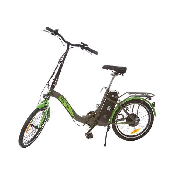 E Mootika Bici Con Pedalata Assistita Con Telaio Pieghevole Ruote 20