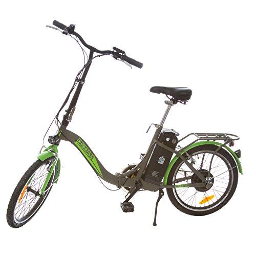 E-mootika, bici con pedalata assistita con telaio pieghevole ruote 20''