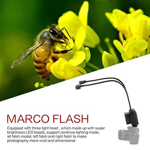 WS-2-36LED-display-tubo-arbitraria-LCD-5600k-Speedlite-metallo-Marco-Flash