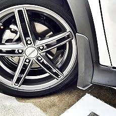 Ek Retail Shop - Premium Quality Car O.E Type Mud Flaps (Front & Rear Mud Flaps) for - Mud Guard - Volkswagen Vento
