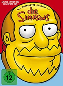 The Simpsons - Die komplette Season 12 (Tiefziehbox) [Limited Collector's Edition] [4 DVDs]