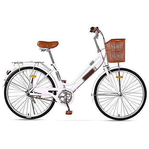 Fahrrad Retro Double Beam Low Span männliche und weibliche Studenten Freizeit Fahrrad Pendler Auto 24 Zoll