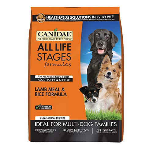 Canidae All Life Stages Dog Dry Food Lamb Meal & Rice Formula, 5 lbs