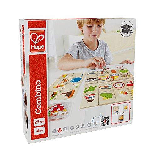 Hape HAP-E6313 Home Education Combino Game