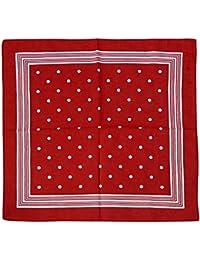 Harrys-Collection Unisex Bandana Bindetuch 100% Baumwolle (1 er 6 er oder 12 er Pack)