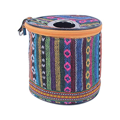 Preisvergleich Produktbild Vektenxi Premium Qualität Ethnische Toilettenpapierhalter Rollenkoffer Outdoor-Zelt