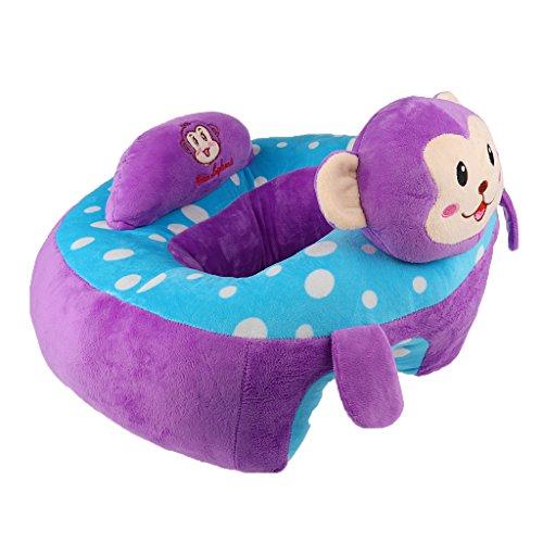 (Sharplace Sitzsack Baby Kindersitzsack Spielzimmer - Lila Affe, Wie beschreiben)