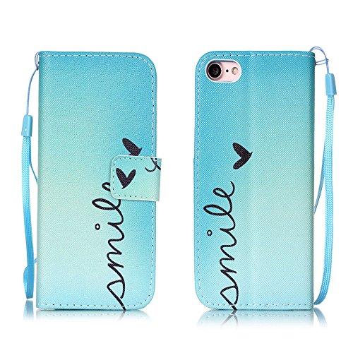 Apple【Eine Vielzahl von Mustern 】iPhone 6 plus Handyhülle Case für iPhone 6 plus Hülle im Bookstyle, PU Leder Flip Wallet Case Cover Schutzhülle für Apple iPhone 6 plus(5.5 Zoll) Schale Handyhülle Cov Farbe-1