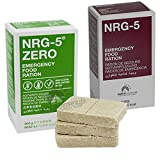 Notverpflegung NRG-5 Glutenfrei Survival 500g Outdoor Notration Notvorsorge Set | 2x9 Riegel Survivalnahrung Expeditions Grundausstattung wie EPA