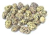 5 piedras de jaspe de dálmata, cristal de curación, relajación,...