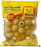 Jolca - Aceitunas Manzanilla Verdes Sin Hueso - Bolsa 180 g