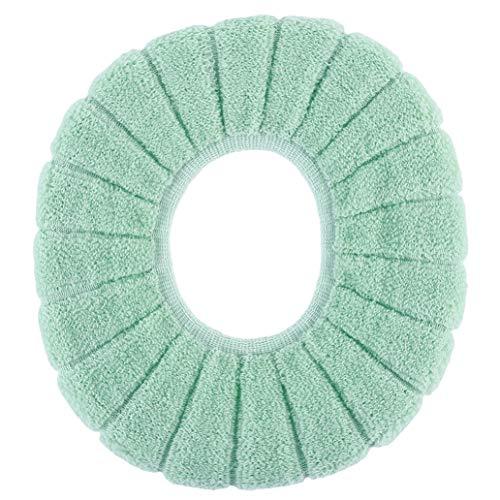 KISSFRIDAY Winter-Bequeme Toiletten-Sitzüberzug-Kürbis-Muster Closestool-Matte (Farbe 2) -