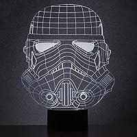 Thumbs Up! Stormtrooper Star Wars Lámpara Acrílica, Blanco, 18.5 x 26.5 x 7.5 cm