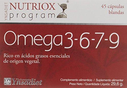 Nutriox Omega 3-6-7-9 - 45 Perlas