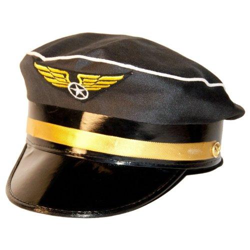 Fancy Kleid Pilot Hut mit blau und gold (Fancy Kleid Hut)