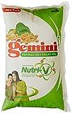 Gemini Refined Soyabean Oil Pouch, 1L