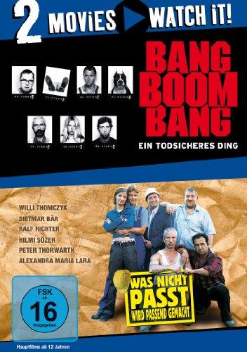 Bild von Bang Boom Bang - Ein todsicheres Ding / Was nicht passt, wird passend gemacht [2 DVDs]