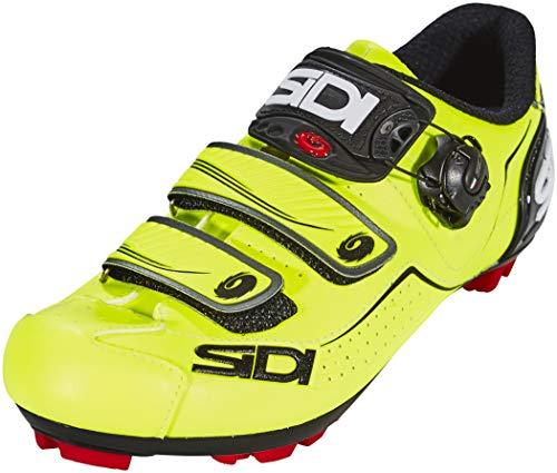 Sidi Trace Shoes Herren Yellow Fluo/Black Schuhgröße EU 42 2019 Schuhe