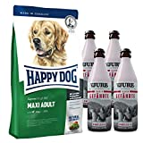 Happy Dog Maxi Adult 15 kg + 4 x TJURE Treuer Gefährte
