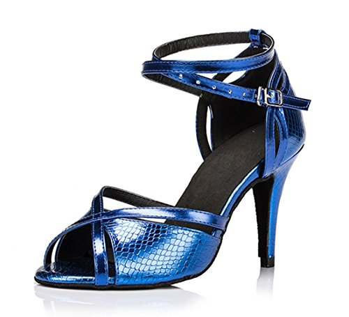 Tda, Damen Pio Dedos 8,5 Centímetros Calcanhar Azul