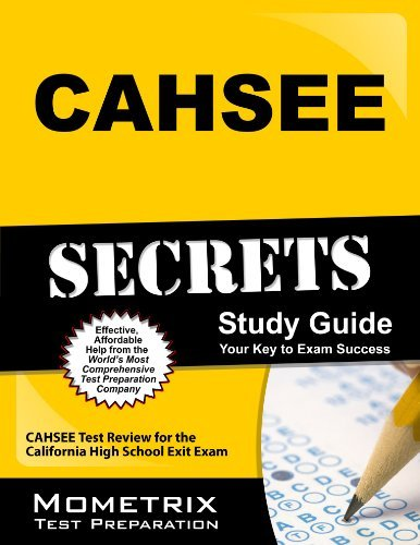 CAHSEE Secrets Study Guide: CAHSEE Test Review for the California High School Exit Exam by CAHSEE Exam Secrets Test Prep Team (2013-02-14) par CAHSEE Exam Secrets Test Prep Team