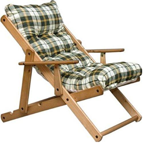Cuscini cuscino imbottito di ricambio (verde) per poltrona sedia sdraio harmony relax soggiorno cucina giardino salone divano