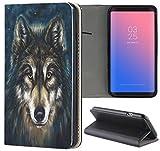 Samsung Galaxy S6 Edge G925 Hülle Premium Smart Einseitig Flipcover Hülle Samsung Galaxy S6 Edge G925 Flip Case Handyhülle Galaxy S6 Edge G925 Motiv (665 Abstract Weiß Gold)