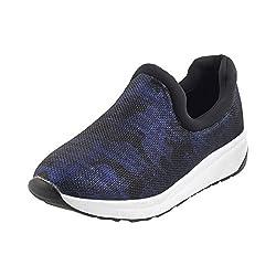 Metro Women Blue Synthetic Walking Shoes (Size Euro39/Uk6) (36-8066-45-39-Blue)
