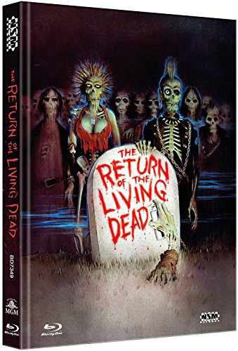 Return of the living Dead - Ultimate Edition [3 Blu-Ray] - uncut - auf 1500 limitiertes Mediabook