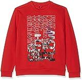 s.Oliver Jungen Sweatshirt 61.709.41.5255, Rot (Red 3118), 170 (Herstellergröße: XL/REG)