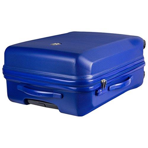 345082102 Trolley Delsey MISAM 4 Rollen 76 cm blau - 3