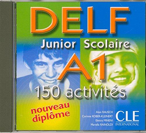 Nouveau DELF Junior scolaire - Niveau A1 - CD audio par Corinne Kober-Kleinert