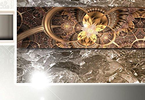 Bilder 200×100 cm – 3 Farben zur Auswahl ! XXL Format! Fertig Aufgespannt TOP Vlies Leinwand – 5 Teilig – Buddha Wand Bild Bilder Kunstdrucke Wandbild 020113-289 200×100 cm B&D XXL - 5