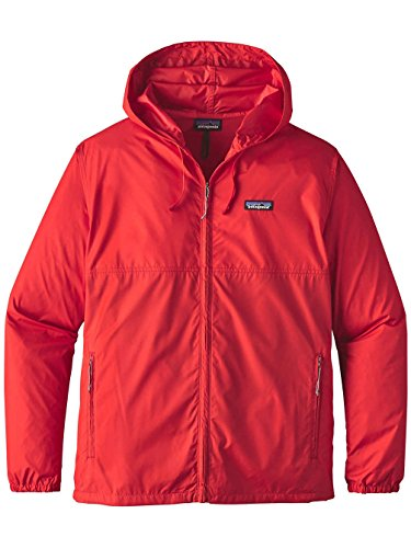 Herren Windbreaker Patagonia Light & Variable Windbreaker Fire
