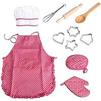 Chef Set Deluxe - Traje - Uniforme - Chef - Chef - Chica - Chica -