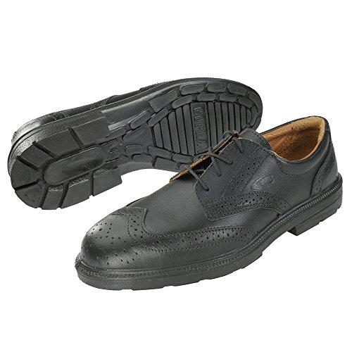Chaussures de travail sécurité cofra business bell, s1, taille 39 à 47 Noir - Noir