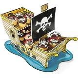Cup Cake, Brownie Piratenschiff für Piratenparty oder Geburtstag Palandi®