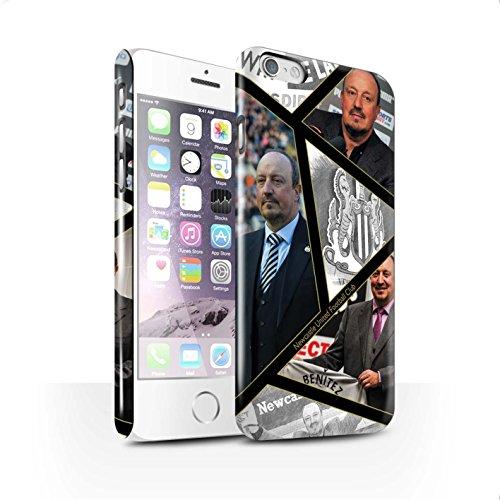 Officiel Newcastle United FC Coque / Clipser Brillant Etui pour Apple iPhone 6S / Pack 8pcs Design / NUFC Rafa Benítez Collection Montage