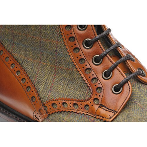 Herring Herring Exmoor, Bottes pour Homme Multicolore (Chestnut Tweed)